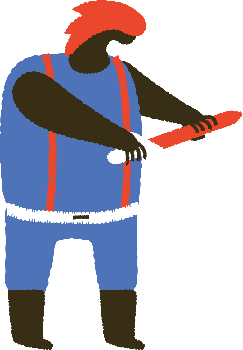 man with sword Clipart illustration in PNG, SVG
