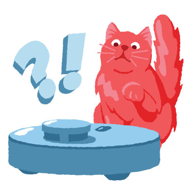 style Cat VS vacuum cleaner images in PNG and SVG | Icons8 Illustrations