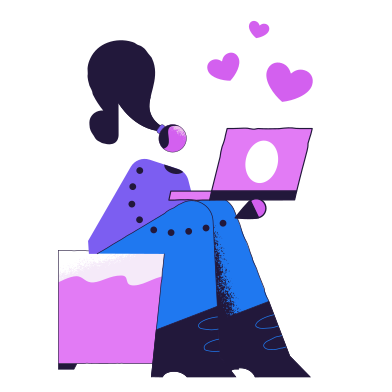 style Virtual love images in PNG and SVG | Icons8 Illustrations