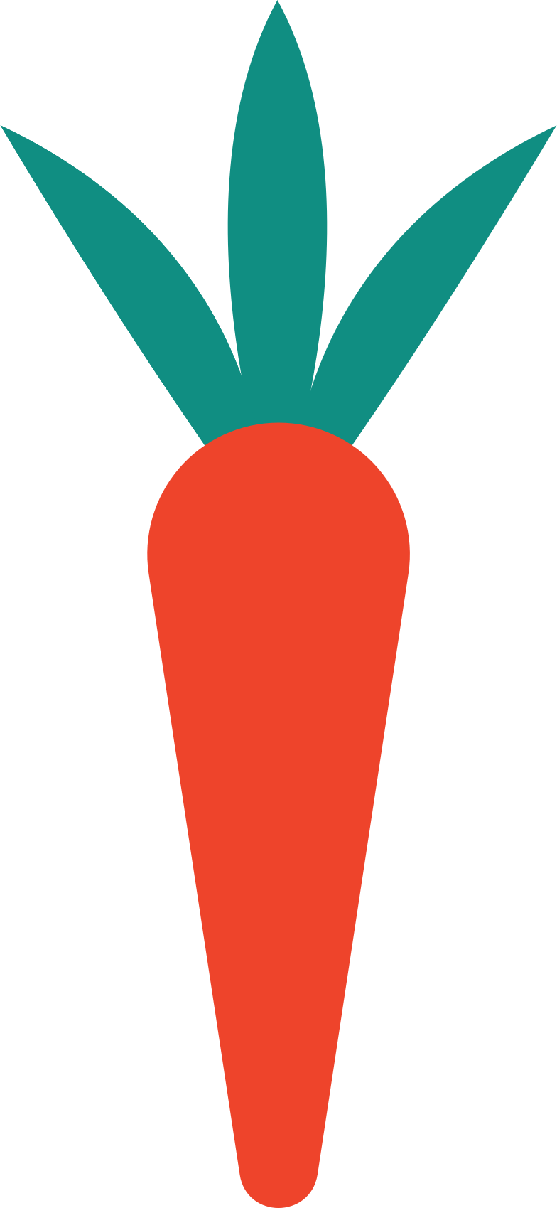 carrot Clipart illustration in PNG, SVG