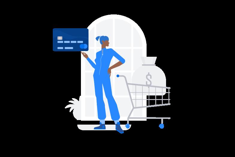 Credit card order Clipart illustration in PNG, SVG