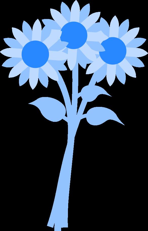Ilustración de clipart de Ramo de flores en PNG, SVG