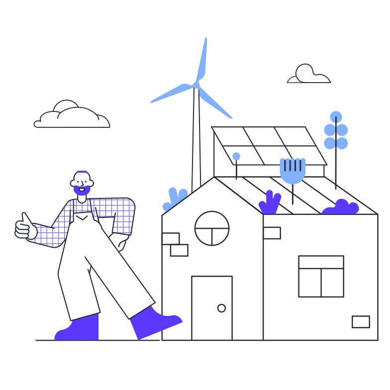 Greentech Clipart illustration in PNG, SVG