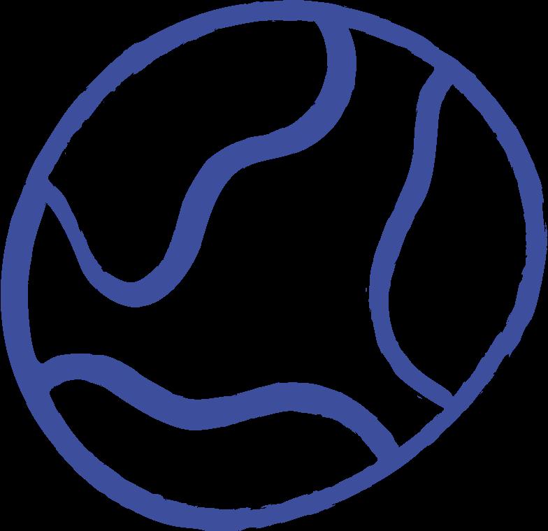 Ilustración de clipart de planet en PNG, SVG