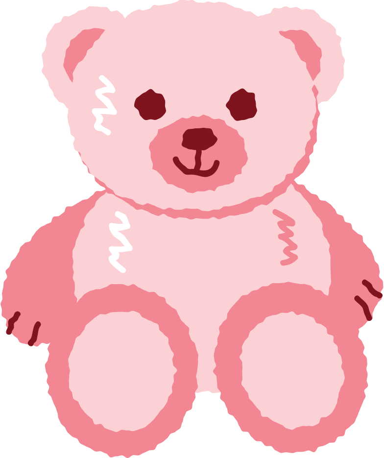 teddy bear toy Clipart illustration in PNG, SVG