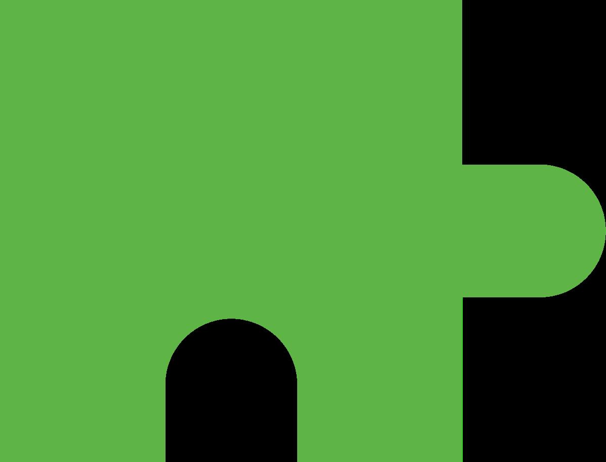 PNGとSVGの  スタイルの パズルピースグリーン ベクターイメージ | Icons8 イラスト