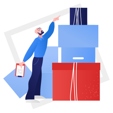 style Pre-delivery processing images in PNG and SVG | Icons8 Illustrations