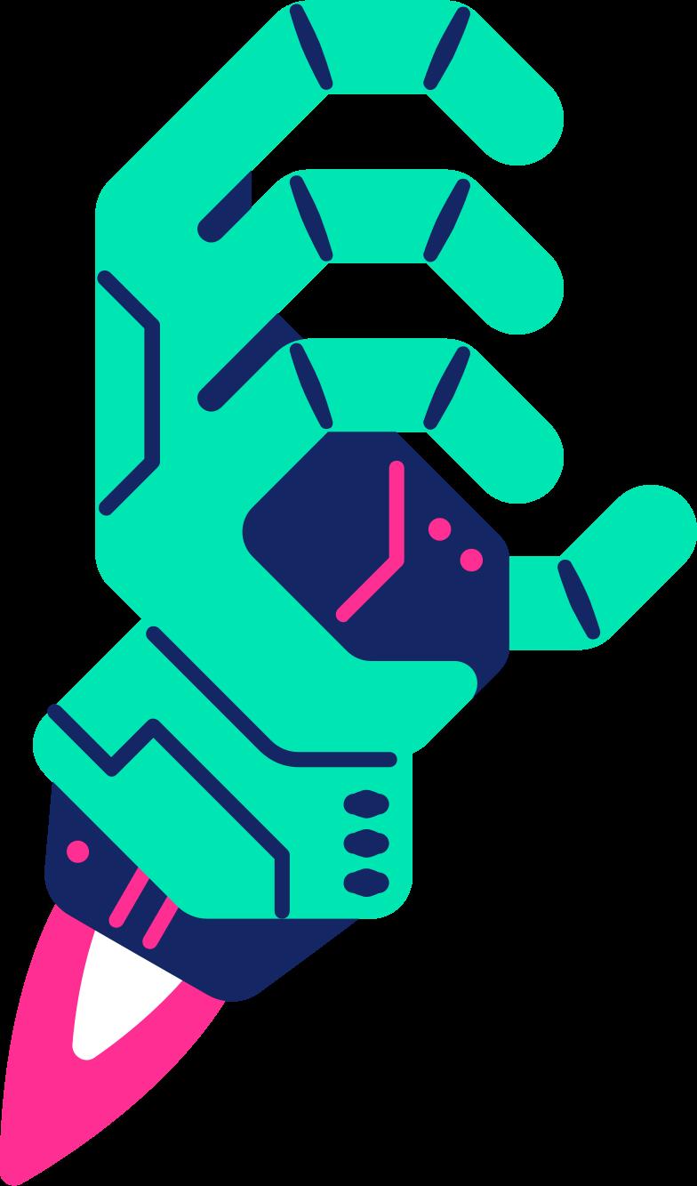 robot hand Clipart-Grafik als PNG, SVG