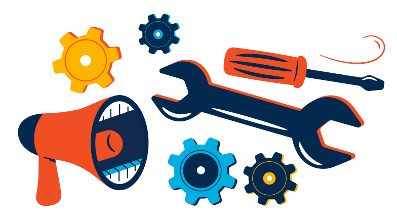 style Equipment repair advertisement Vector images in PNG and SVG | Icons8 Illustrations