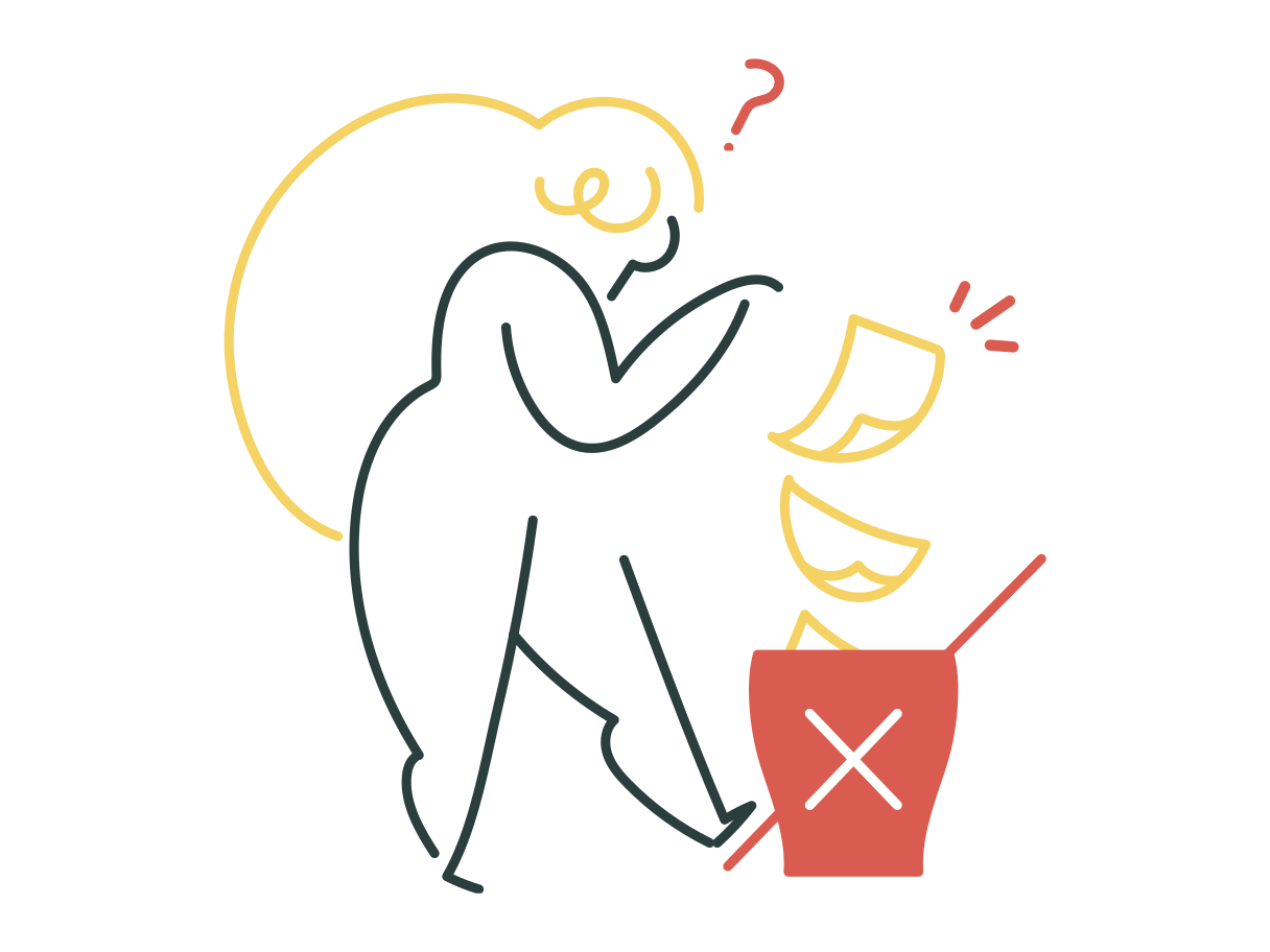 Delete confirmaton Clipart illustration in PNG, SVG