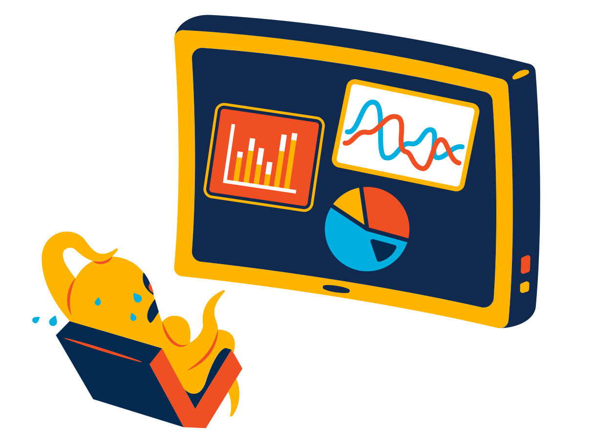 style Scary statistics Vector images in PNG and SVG | Icons8 Illustrations