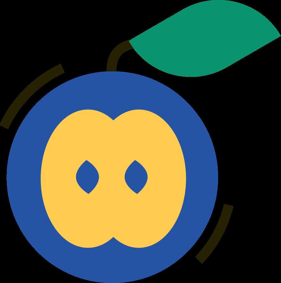 Ilustração de clipart de maçã em PNG e SVG