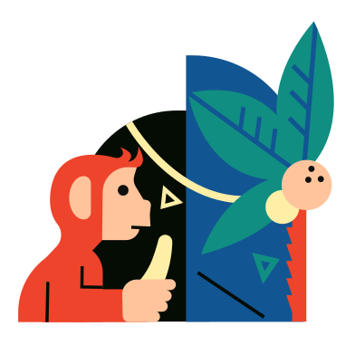 style Monkey images in PNG and SVG | Icons8 Illustrations