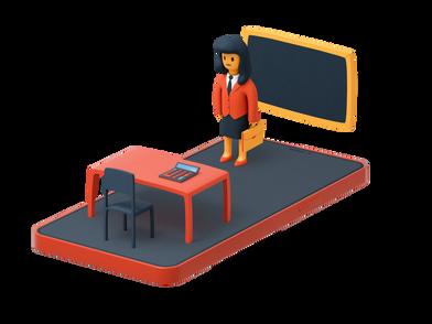 Иллюстрация Бизнес-образование в стиле  в PNG и SVG | Icons8 Иллюстрации