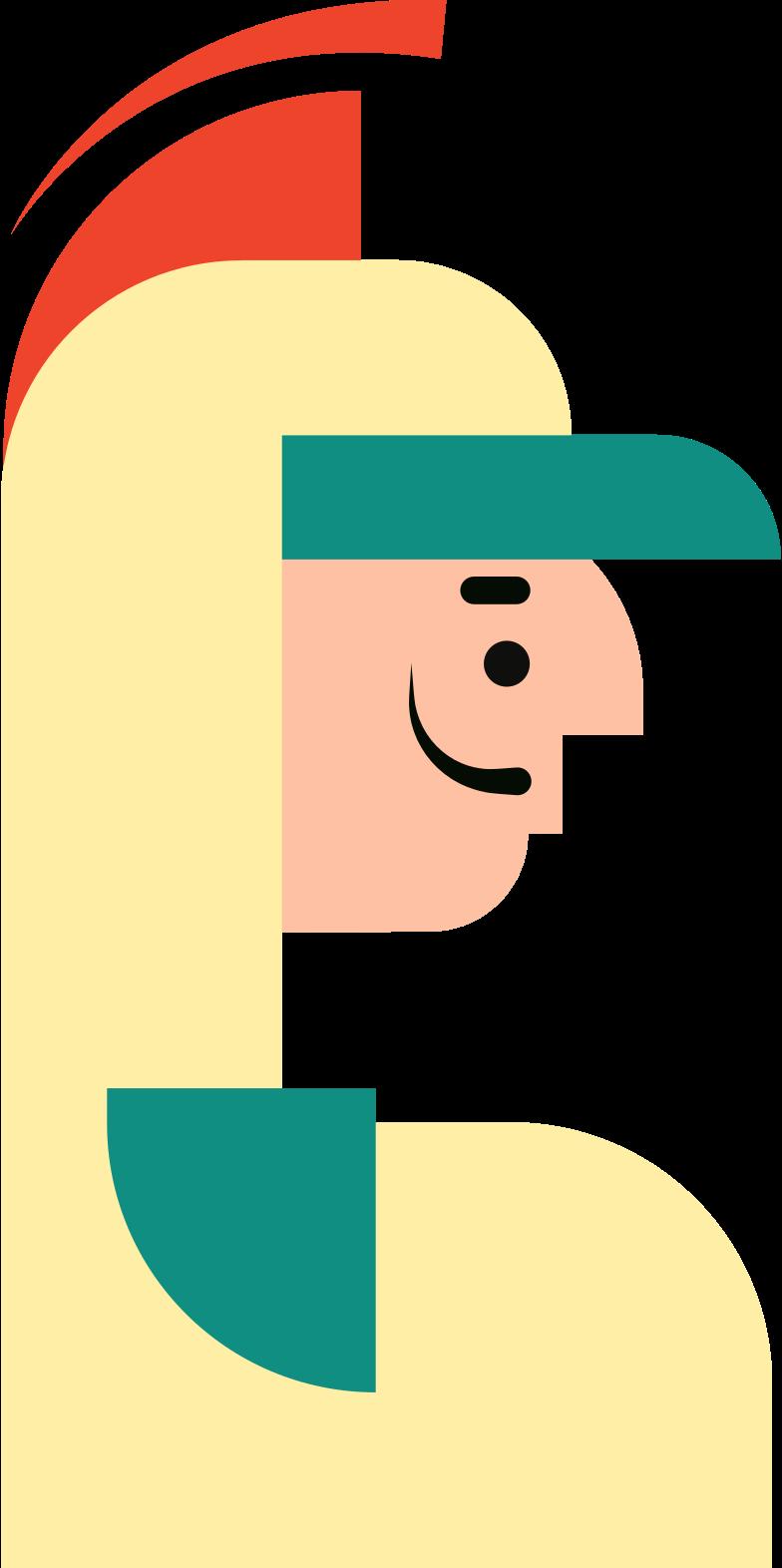 Иллюстрация пожарный в стиле  в PNG и SVG | Icons8 Иллюстрации