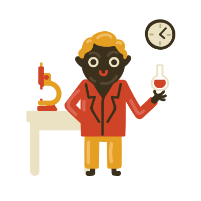style Chemistry teacher images in PNG and SVG | Icons8 Illustrations