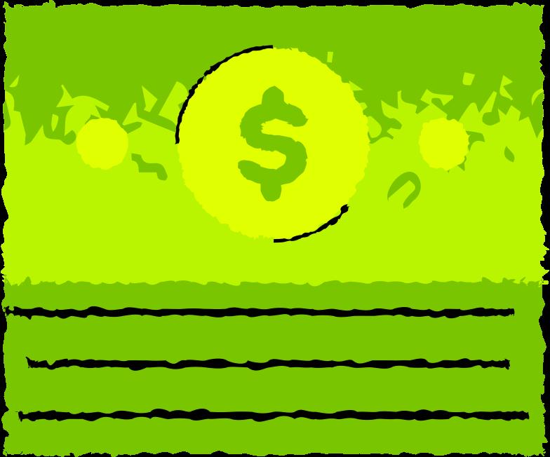 stack-money Clipart illustration in PNG, SVG