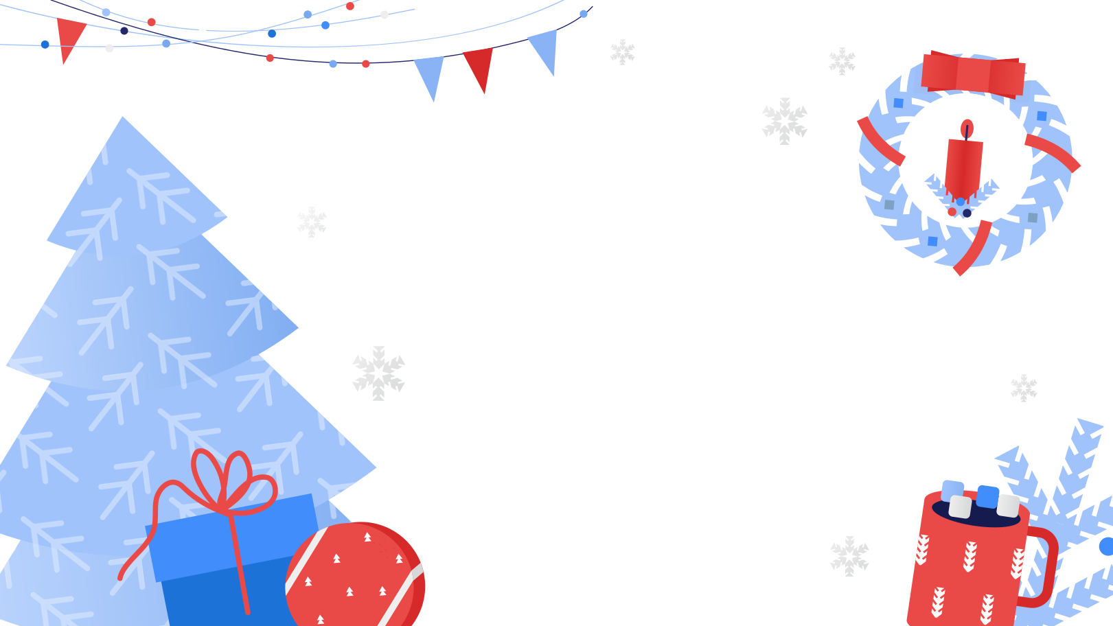 Christmas decoration Clipart illustration in PNG, SVG