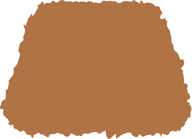 trapeze brown Clipart illustration in PNG, SVG