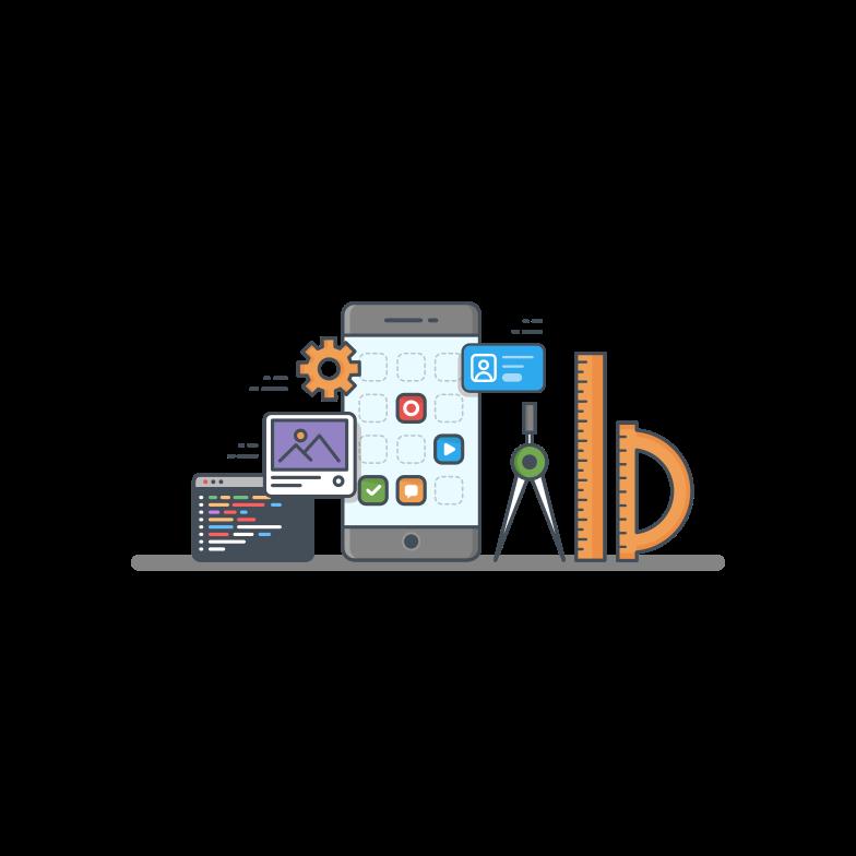 App development Clipart illustration in PNG, SVG