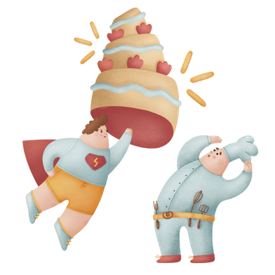 style Super cake images in PNG and SVG | Icons8 Illustrations