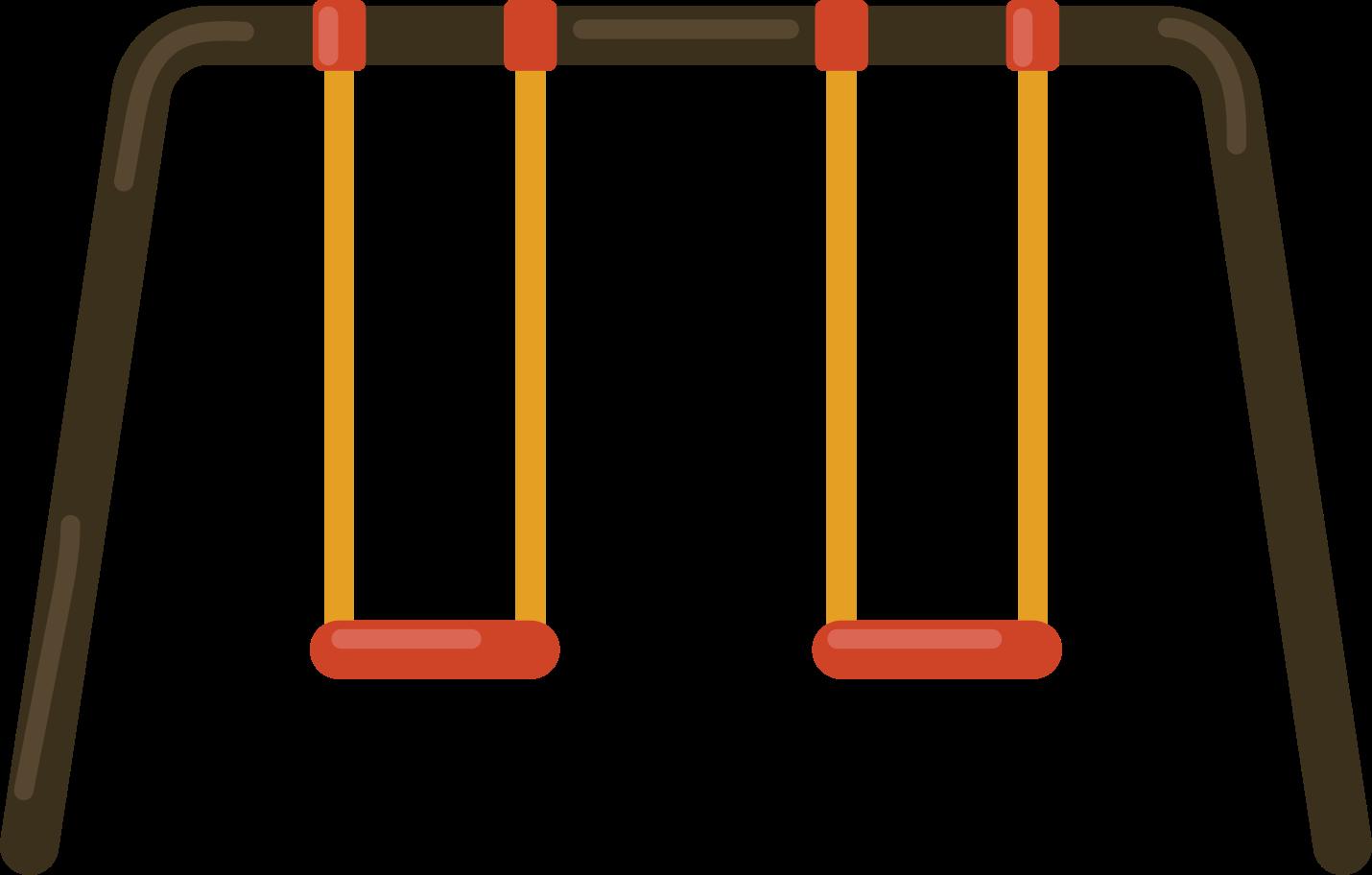 children swing Clipart illustration in PNG, SVG