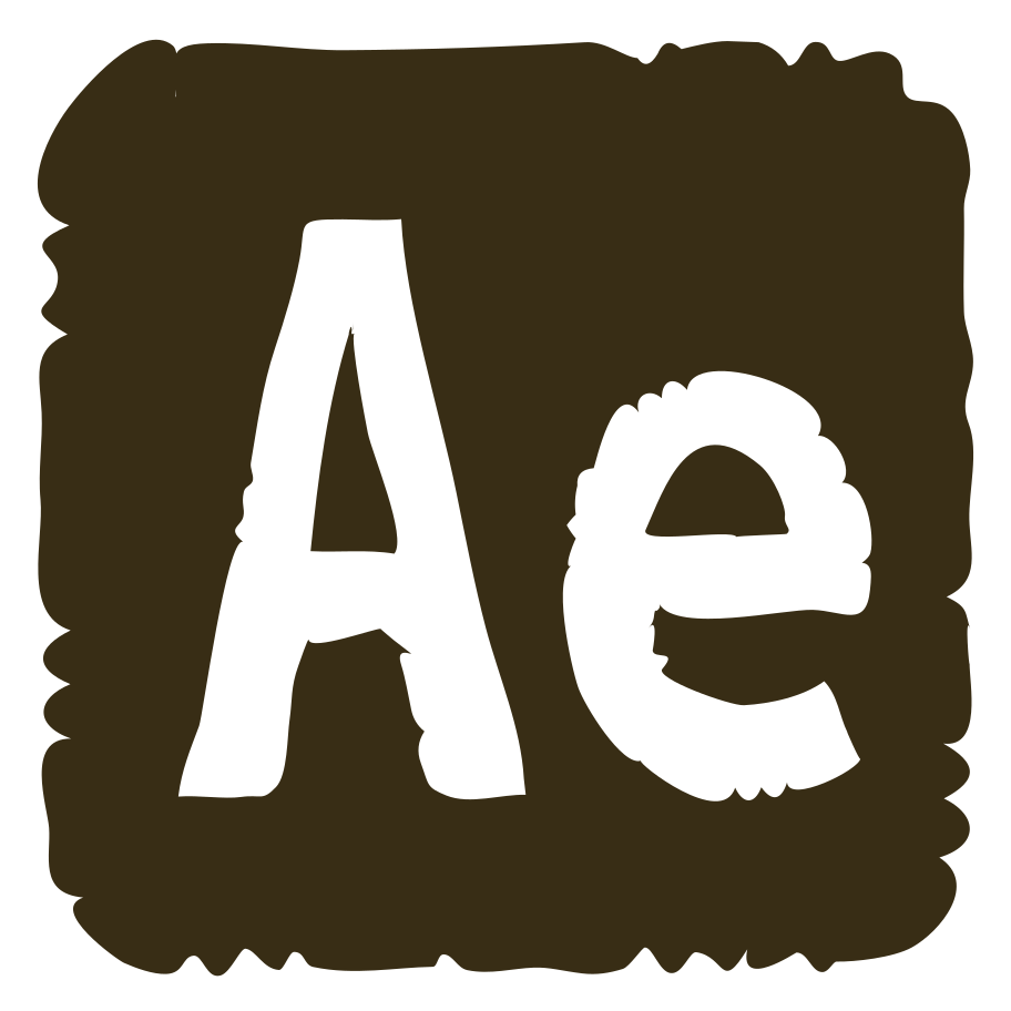adobe after effects logo Clipart illustration in PNG, SVG