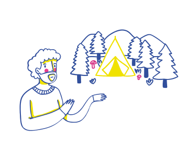 style Camping trip images in PNG and SVG | Icons8 Illustrations