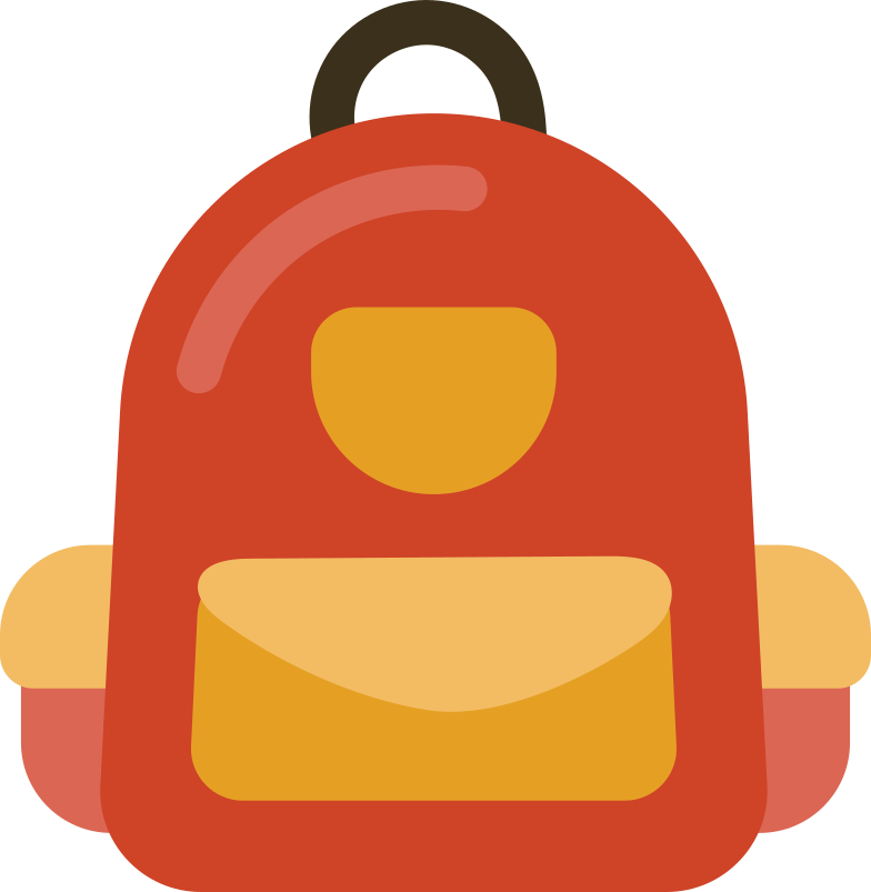 style backpack front Vector images in PNG and SVG | Icons8 Illustrations