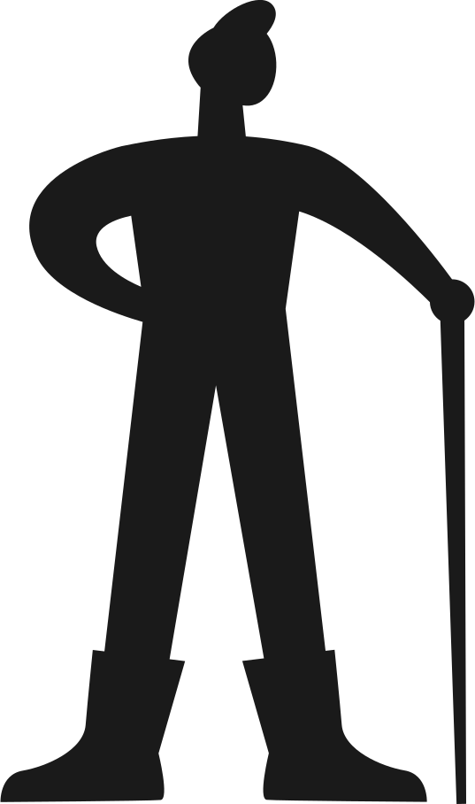 human silhouette Clipart illustration in PNG, SVG