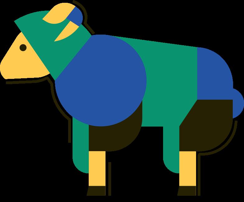 lamb Clipart illustration in PNG, SVG