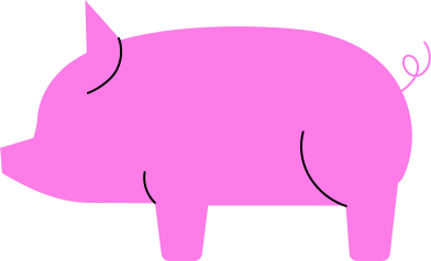 style pig images in PNG and SVG | Icons8 Illustrations