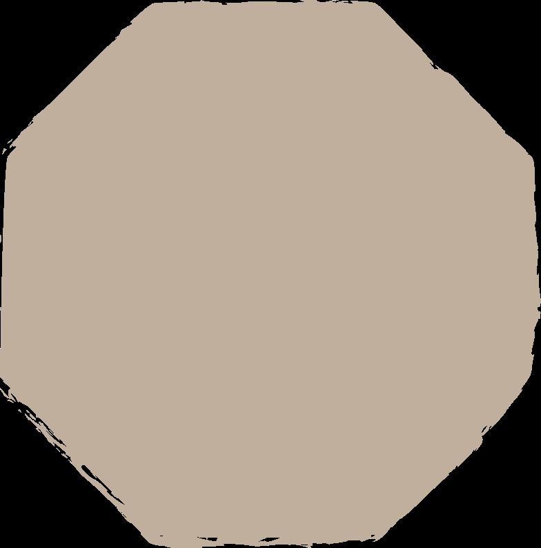 octagon-light-grey Clipart illustration in PNG, SVG