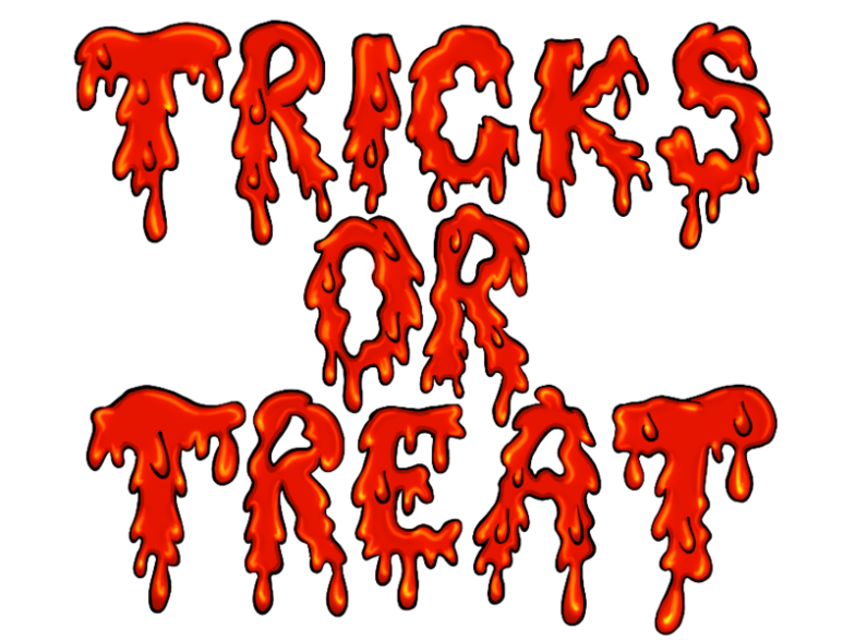 tricks or treat pm Clipart illustration in PNG, SVG