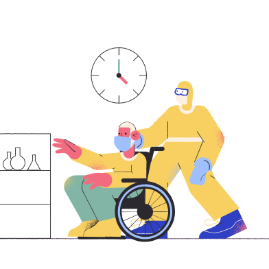 style Man got sick, pandemic images in PNG and SVG | Icons8 Illustrations