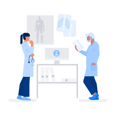 style Medical Consultation Online images in PNG and SVG | Icons8 Illustrations