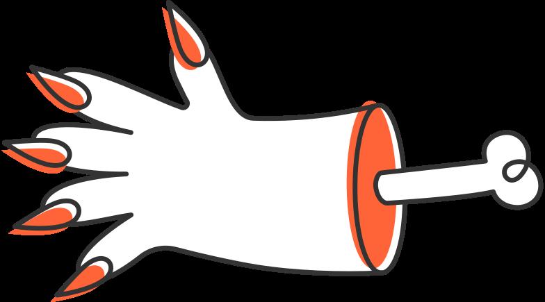 Imágenes vectoriales mano halloween en PNG y SVG estilo  | Ilustraciones Icons8