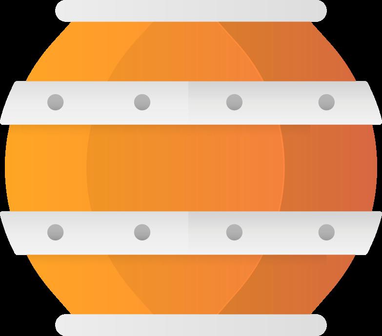 barrel Clipart illustration in PNG, SVG