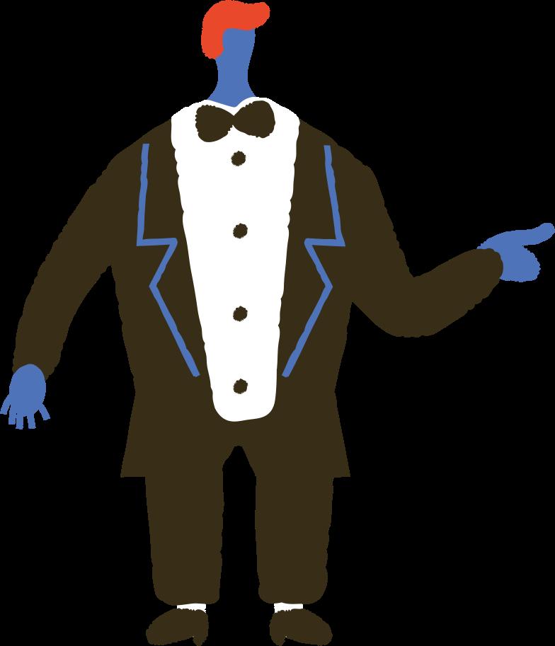 Ilustración de clipart de magician en PNG, SVG