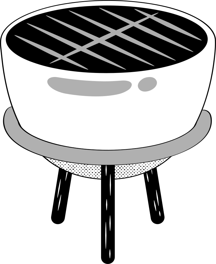 barbecue Clipart illustration in PNG, SVG