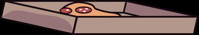 design  pizza box Clipart illustration in PNG, SVG