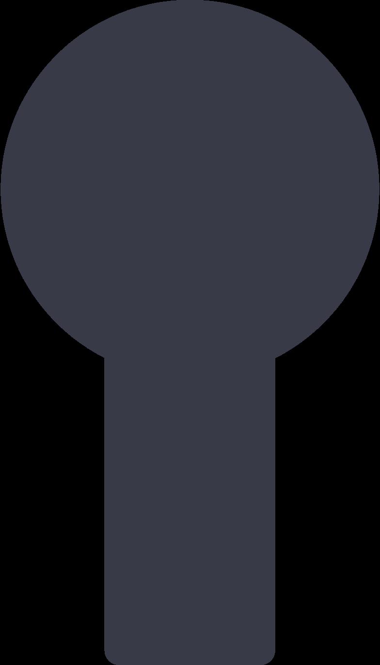 keyhole Clipart illustration in PNG, SVG