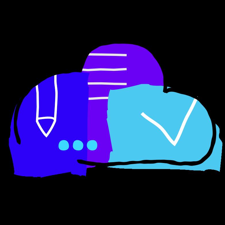 Клипарт Облачное хранилище в PNG и SVG