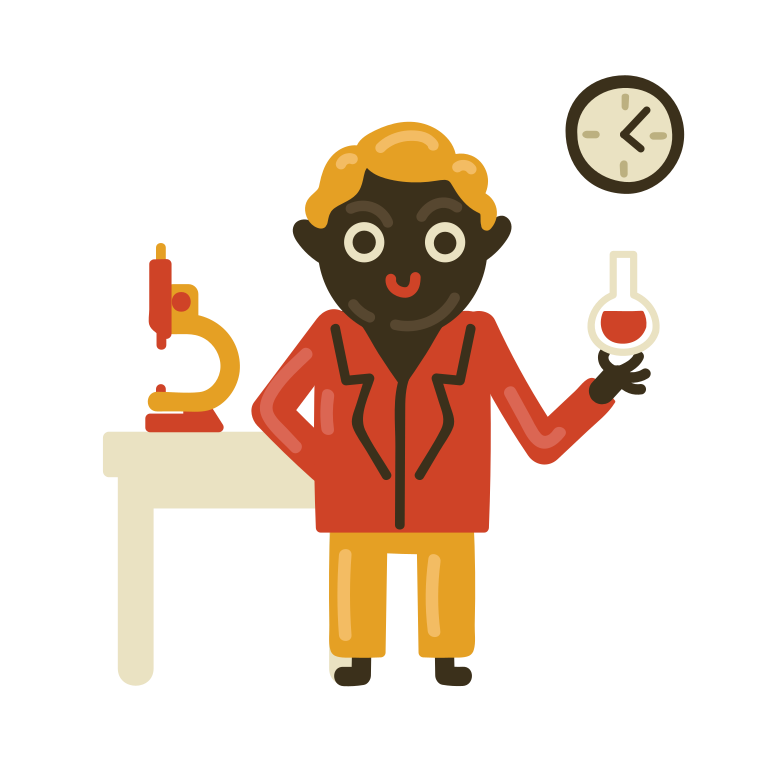 style Chemistry teacher Vector images in PNG and SVG | Icons8 Illustrations
