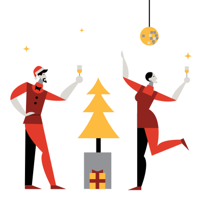 style New Year's eve party images in PNG and SVG | Icons8 Illustrations