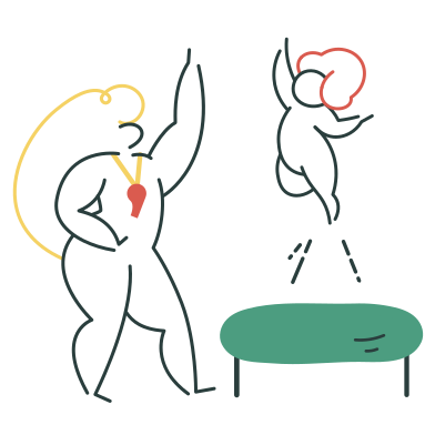 style Trampoline jumping images in PNG and SVG | Icons8 Illustrations