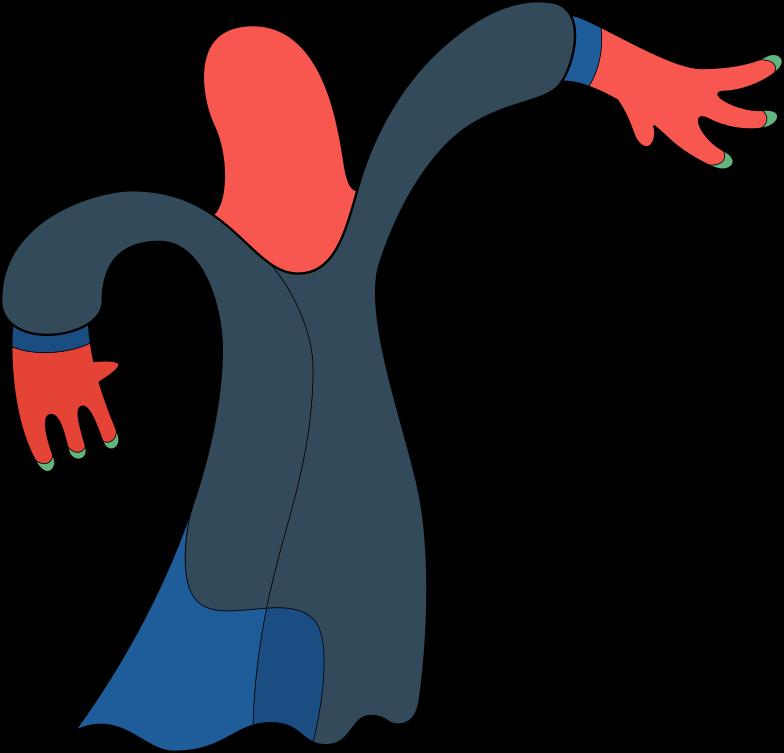 Иллюстрация ведьма в стиле  в PNG и SVG | Icons8 Иллюстрации