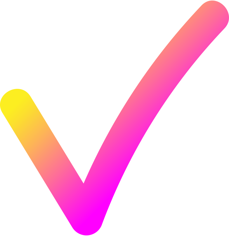 style rg pink yellow check mark Vector images in PNG and SVG | Icons8 Illustrations