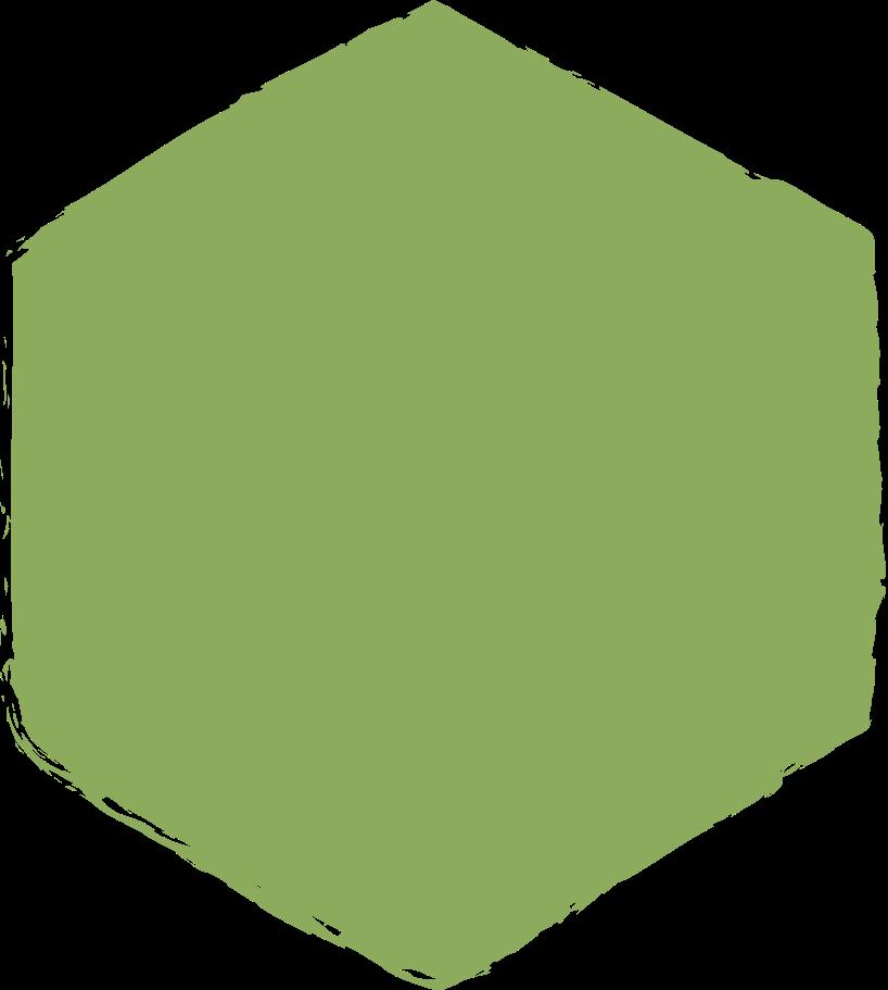 hexadon-dark-green Clipart illustration in PNG, SVG