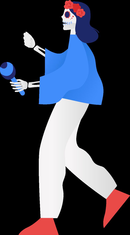 Immagine Vettoriale Donna scheletro in PNG e SVG in stile  | Illustrazioni Icons8